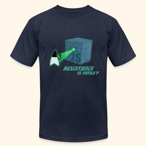 Resistance is futile? - Men's Fine Jersey T-Shirt