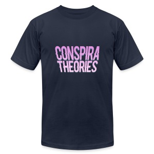 Women's - ConspiraTheories Official T-Shirt - Men's Fine Jersey T-Shirt