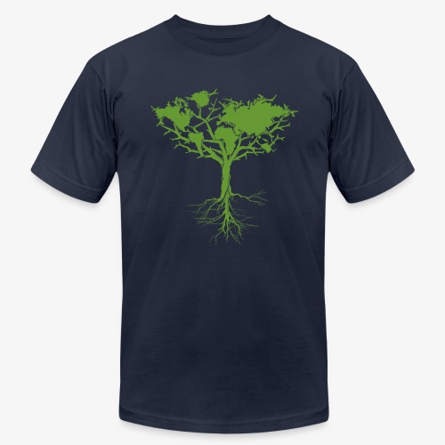 Earth tree - Men's Fine Jersey T-Shirt
