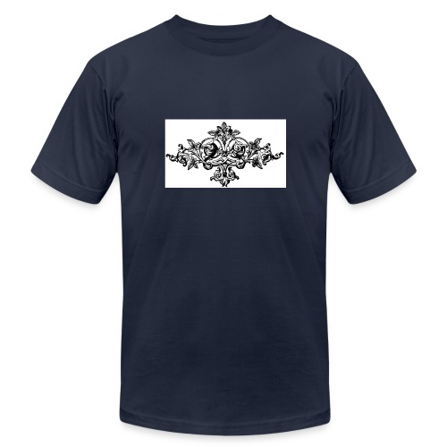 floral motif 6 lg - Men's Fine Jersey T-Shirt