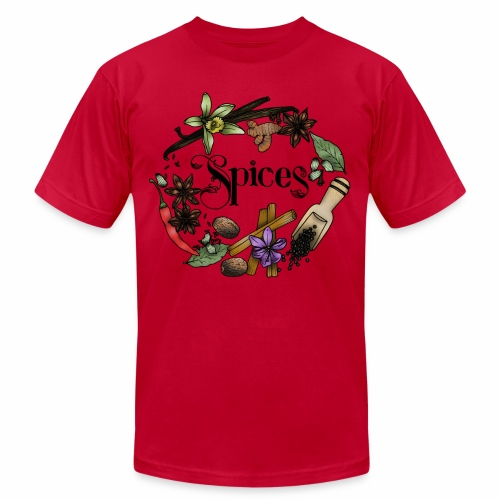 Spices - Unisex Jersey T-Shirt by Bella + Canvas