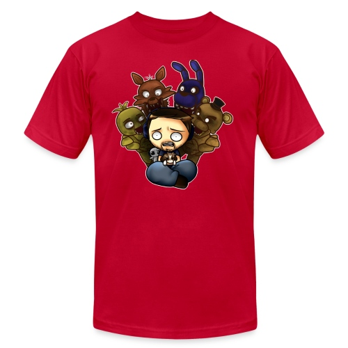 5naff png - Unisex Jersey T-Shirt by Bella + Canvas