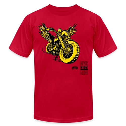 Flying Rat Yellow Edition - Unisex Jersey T-Shirt by Bella + Canvas