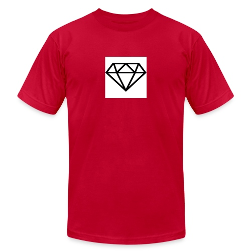 diamond outline 318 36534 - Men's  Jersey T-Shirt