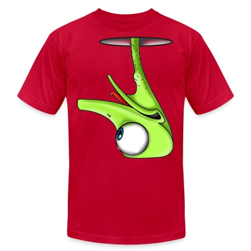 Funny Green Ostrich - Unisex Jersey T-Shirt by Bella + Canvas