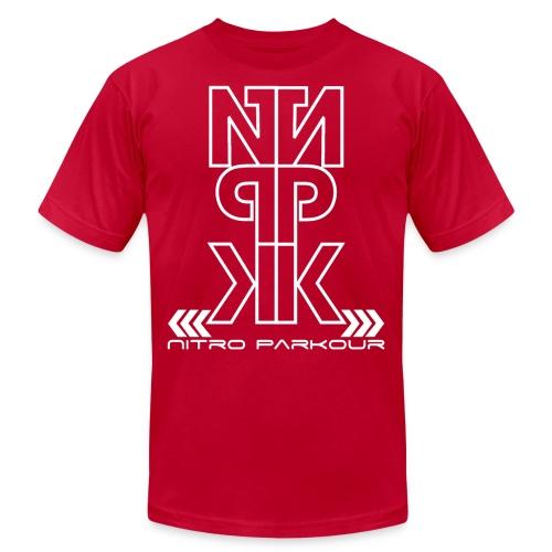 npk miroir png - Unisex Jersey T-Shirt by Bella + Canvas