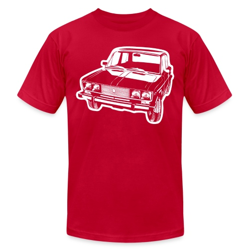 Lada 2106 illustration - Unisex Jersey T-Shirt by Bella + Canvas