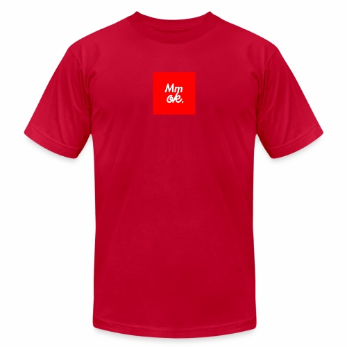 Mmok in Red - Men's  Jersey T-Shirt