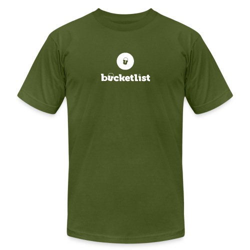 BEST QUALITYbucketlist logo png - Unisex Jersey T-Shirt by Bella + Canvas