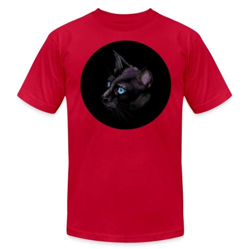 Black Cat - Unisex Jersey T-Shirt by Bella + Canvas