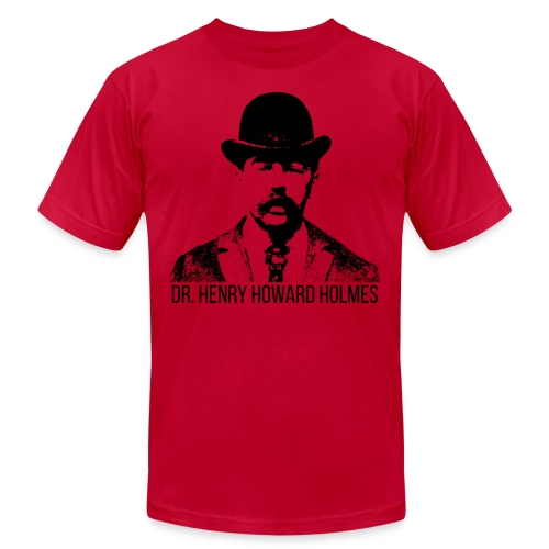 Dr-Henry-Howard-Holmes - Unisex Jersey T-Shirt by Bella + Canvas
