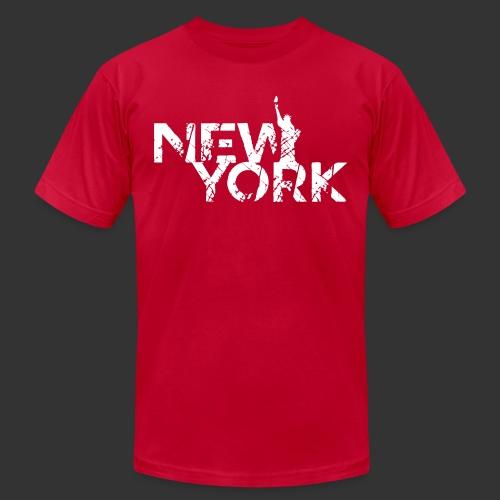 New York (Flexi Print) - Unisex Jersey T-Shirt by Bella + Canvas