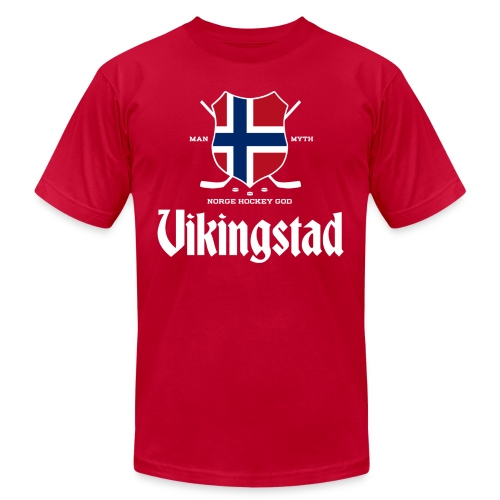 Vikingstad - Unisex Jersey T-Shirt by Bella + Canvas
