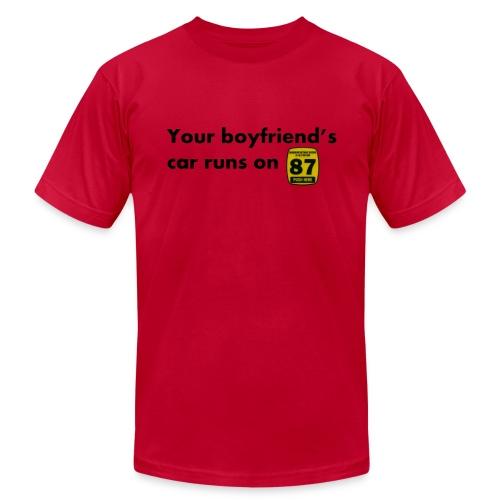 Boyfriend Gas Preference - Men's  Jersey T-Shirt