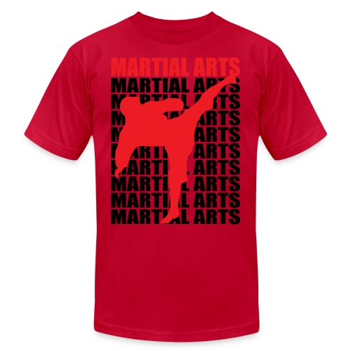 Martial Arts - Unisex Jersey T-Shirt by Bella + Canvas