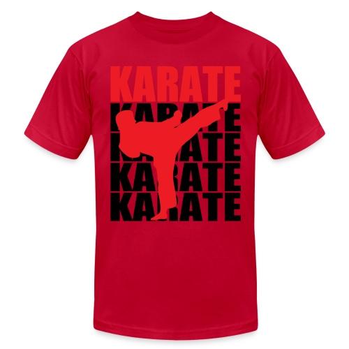 Karate - Unisex Jersey T-Shirt by Bella + Canvas