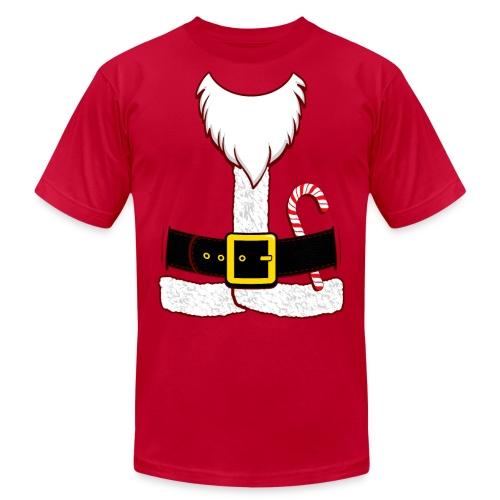 Santa Claus - Unisex Jersey T-Shirt by Bella + Canvas