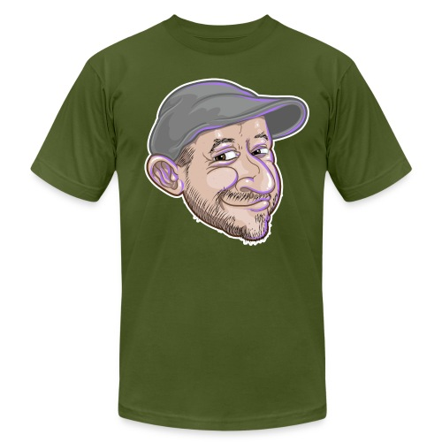 abe shirt - Unisex Jersey T-Shirt by Bella + Canvas