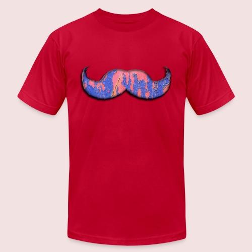 mustache - Men's  Jersey T-Shirt
