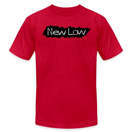 new low logo1a - Unisex Jersey T-Shirt by Bella + Canvas