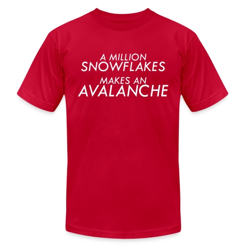 Liberal Snowflakes - Unisex Jersey T-Shirt by Bella + Canvas