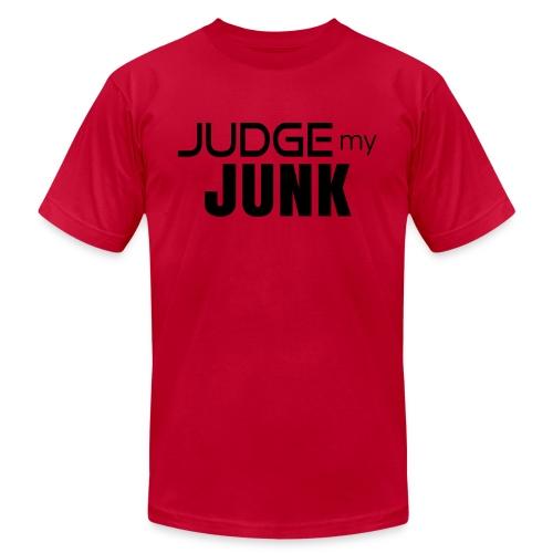 Judge my Junk Tshirt 03 - Unisex Jersey T-Shirt by Bella + Canvas
