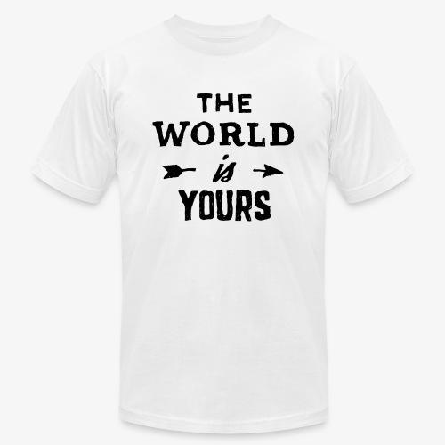 the world - Men's  Jersey T-Shirt