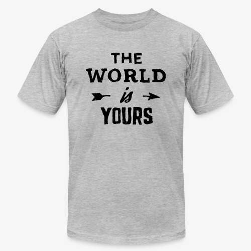 the world - Unisex Jersey T-Shirt by Bella + Canvas