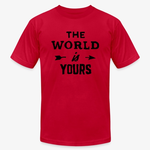 the world - Men's Jersey T-Shirt
