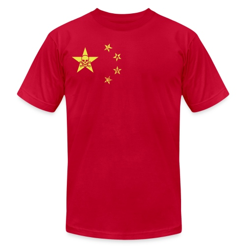 Made In China - Unisex Jersey T-Shirt by Bella + Canvas