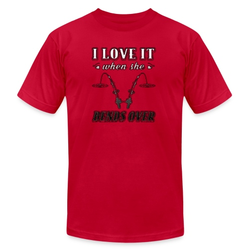 Bends Over | t-shirt custom ink - Men's  Jersey T-Shirt