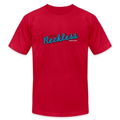 teamreckless logo blue2 png - Unisex Jersey T-Shirt by Bella + Canvas
