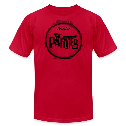 parties drum - Unisex Jersey T-Shirt by Bella + Canvas