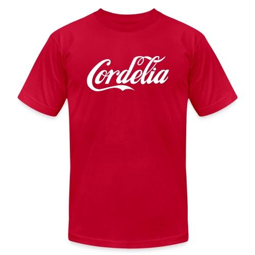 Cordelia White - Unisex Jersey T-Shirt by Bella + Canvas