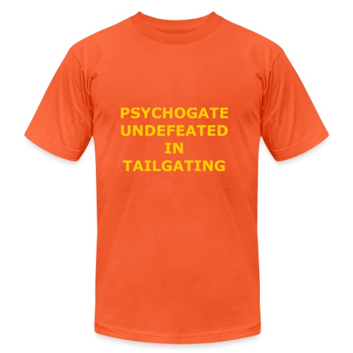Undefeated In Tailgating - Unisex Jersey T-Shirt by Bella + Canvas