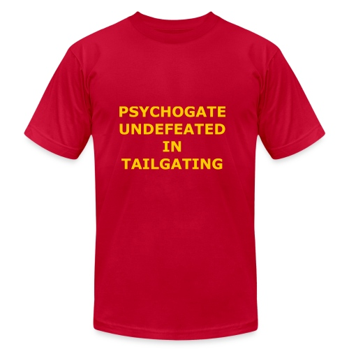 Undefeated In Tailgating - Men's  Jersey T-Shirt