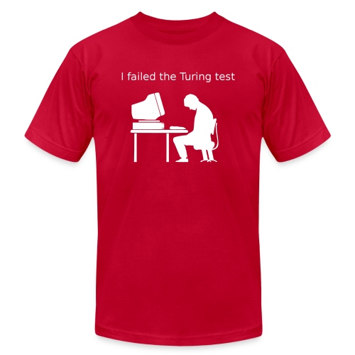 Turing test - Unisex Jersey T-Shirt by Bella + Canvas