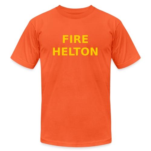 Fire Helton Shirt - Unisex Jersey T-Shirt by Bella + Canvas