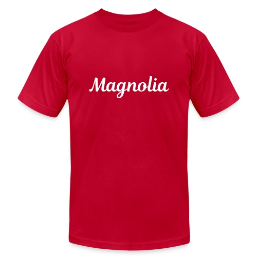 Magnolia Abstract Design. - Men's Jersey T-Shirt