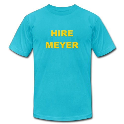 Hire Meyer - Unisex Jersey T-Shirt by Bella + Canvas