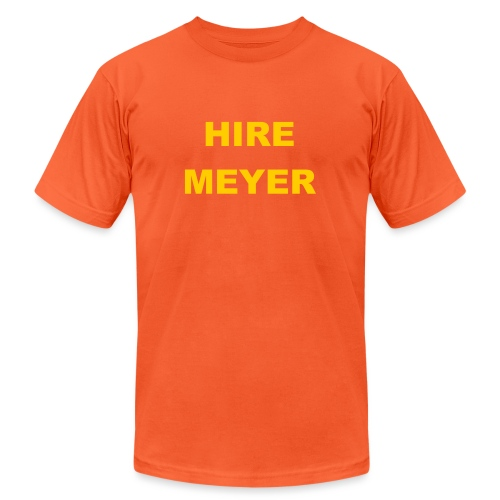 Hire Meyer - Unisex Jersey T-Shirt by Bella + Canvas