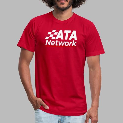 ATA Network Light Logo Vertical - Unisex Jersey T-Shirt by Bella + Canvas