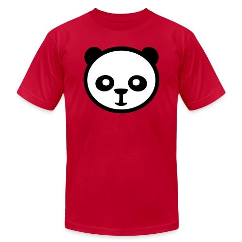 Panda bear, Big panda, Giant panda, Bamboo bear - Unisex Jersey T-Shirt by Bella + Canvas
