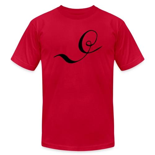 Letter D - Unisex Jersey T-Shirt by Bella + Canvas