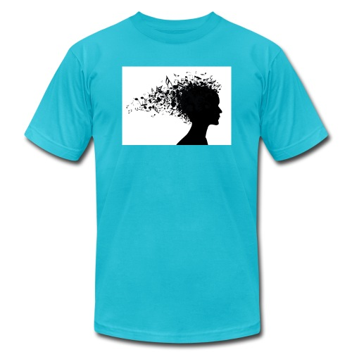 music through my head - Men's  Jersey T-Shirt