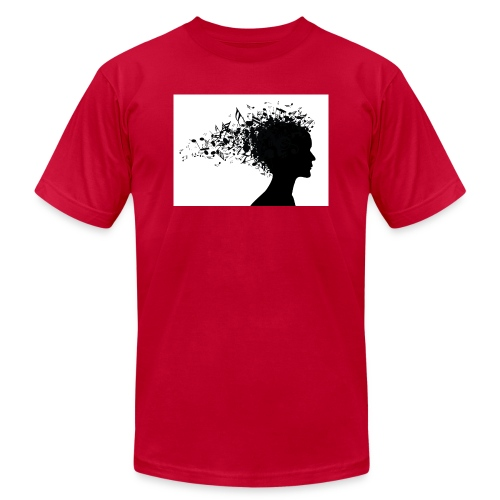 music through my head - Men's  Jersey T-Shirt