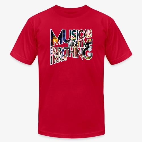 MTMEIK Broadway - Unisex Jersey T-Shirt by Bella + Canvas