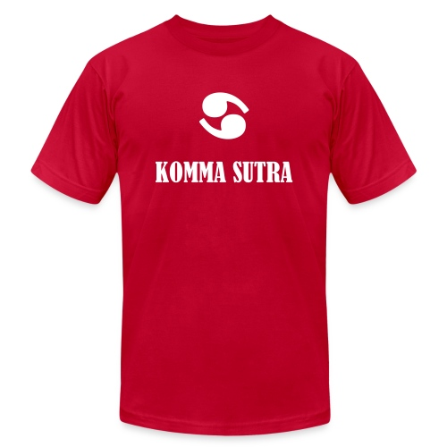 Komma Sutra - Unisex Jersey T-Shirt by Bella + Canvas