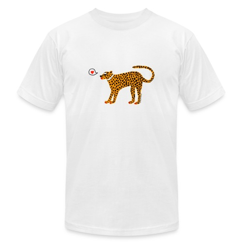 Glam Cat - Unisex Jersey T-Shirt by Bella + Canvas