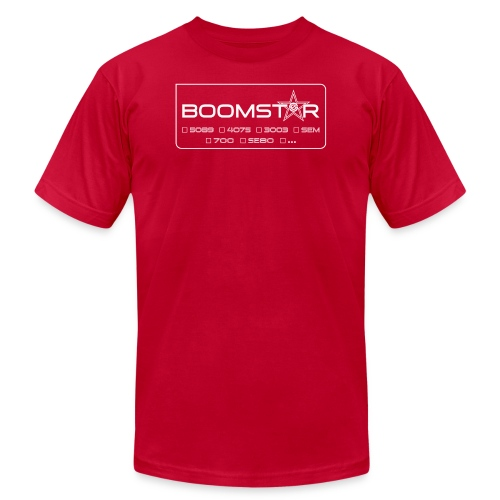 boomstart 552 - Unisex Jersey T-Shirt by Bella + Canvas